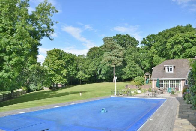 Pool side elevation