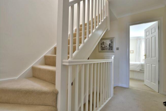 Staircase to sun terrace
