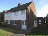 3 bed semi detached property in Clare Crescent...