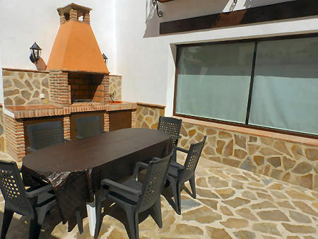 Patio with BBQ