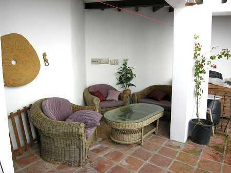 Internal patio