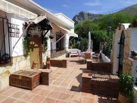 Villa with terraces
