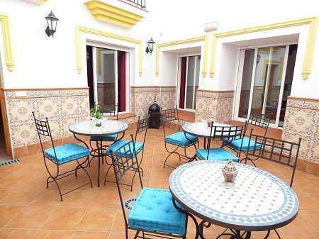 Internal patio