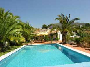 Large villa and pool
