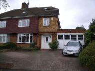 semi detached house to rent in Worcester Crescent...