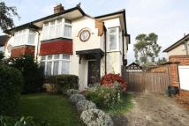 semi detached home for sale in Broadmead Road...