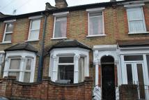 Terraced house in Woodend Road...