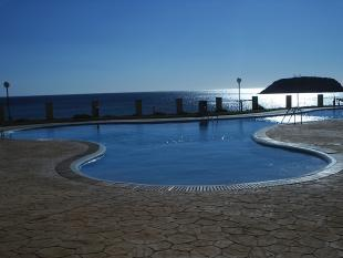 Swimming pool & view