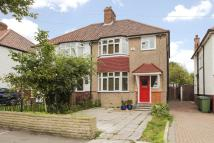 semi detached home in Begbie Road, Blackheath...