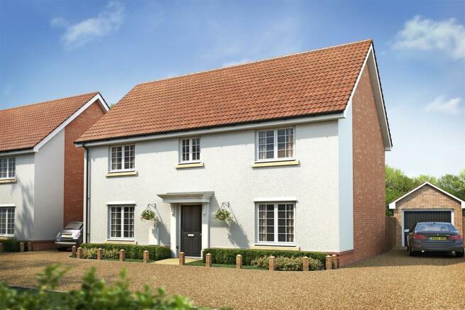 4 bedroom detached house for sale in falkenham road for Garden rooms ipswich