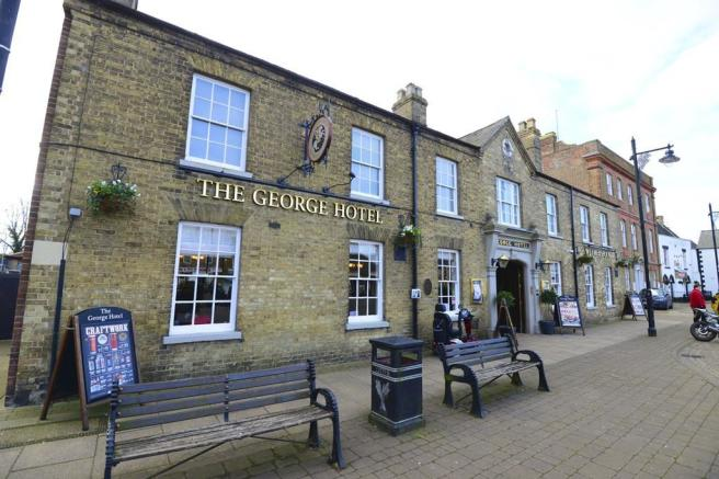 whittlesey the George pub