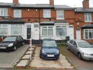 Terraced home in Hagley Road West...
