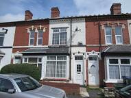 Terraced property in Silverton Road, Smethwick