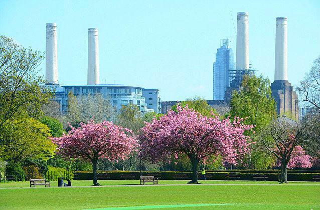 Battersea Park closeby