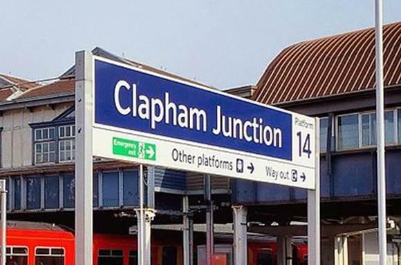 Clapham Junction within a short walk