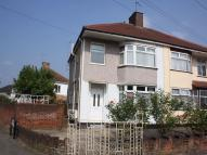 Tavistock Road semi detached house to rent