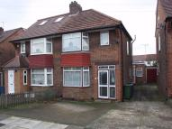 semi detached house in Broomgrove Gardens...