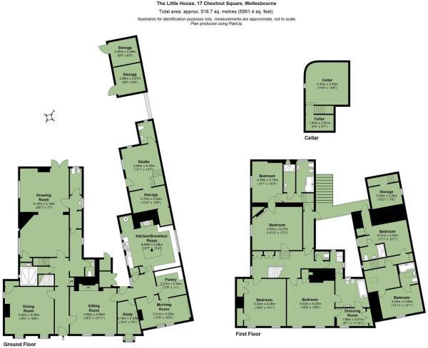 Floor plan - The Little House 17 Chestnut Square W