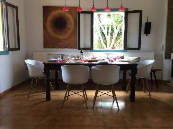 Upper Dining Area