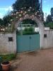 gate to potager