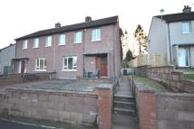 semi detached home in Criffel Road, Dumfries...