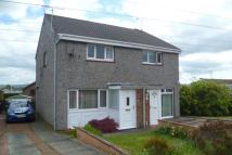 semi detached house in Cartha Road, Dumfries...
