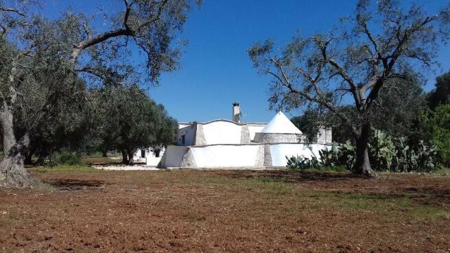 Rear of Main House