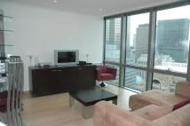 Flat to rent in No 1 West India Quay...