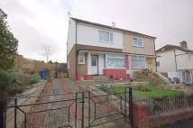 Somerled Avenue semi detached house for sale