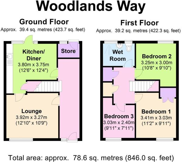 25 Woodlands Way - F