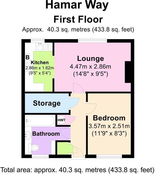 22 Hamar Way - Floor