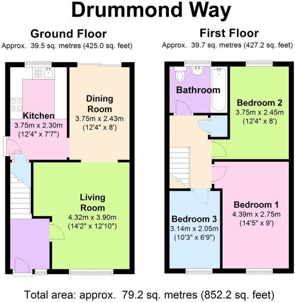 15 Drummond Way - Fl