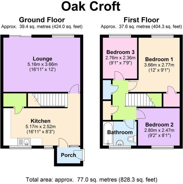 18 Oak Croft - Floor
