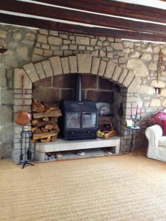 Fireplace woodburner