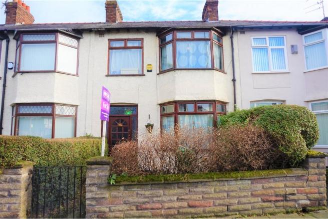 3 bedroom terraced house for sale in derby lane liverpool for Furniture 66 long lane liverpool