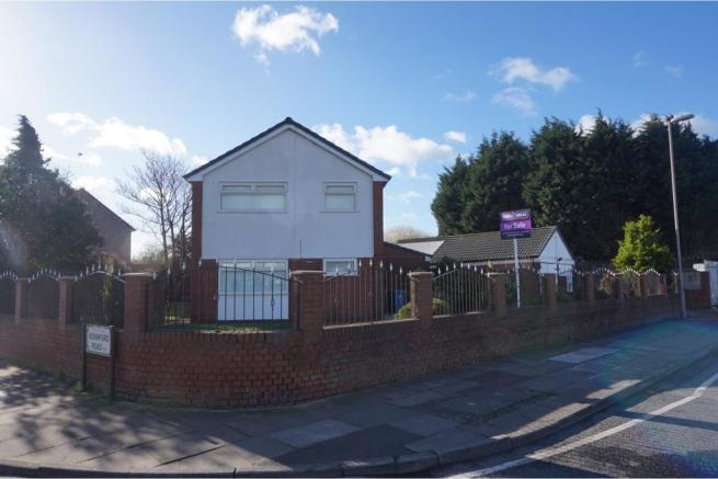 4 bedroom detached house for sale in back gillmoss lane for Furniture 66 long lane liverpool