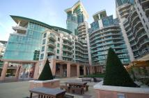 Flat in St Georges Wharf, London