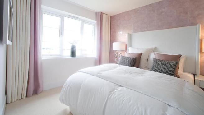 Luxurious bedroom Avant Homes new homes for sale