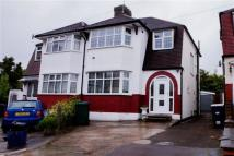 3 bedroom semi detached property in IVERE DRIVE, BARNET