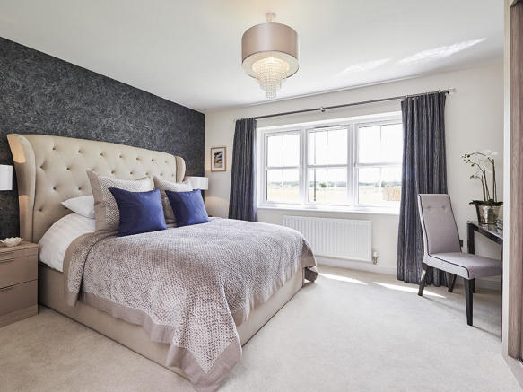 Impressive master with en suite and dressing room