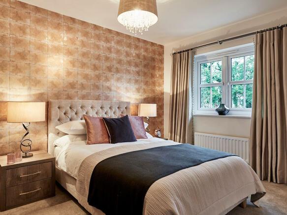 Attractive bedroom
