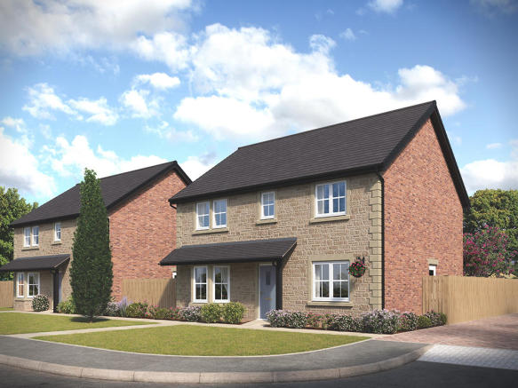 External CGI of the 4-bedroom Harrogate