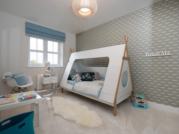 Perfectly sized child's bedroom