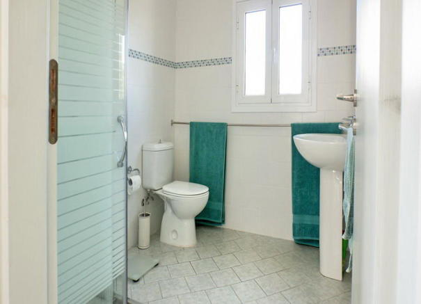 Lower bathroom