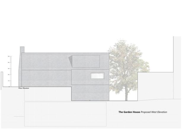 Proposed W Elevation