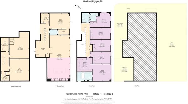 Floor & Site Plan