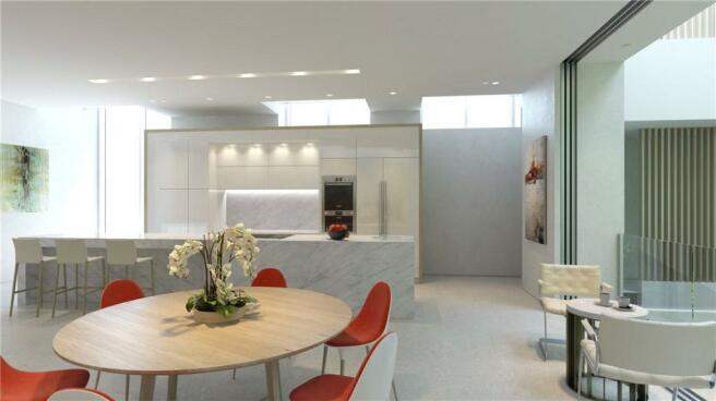 Cgi - Kitchen, W11
