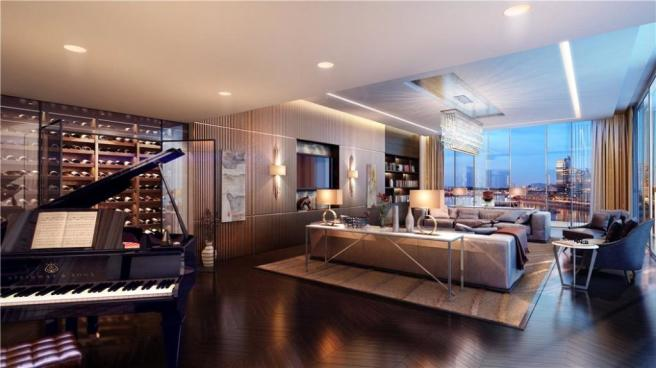 6 bedroom flat for sale in riverside penthouse king 39 s for Chelsea apartments for sale