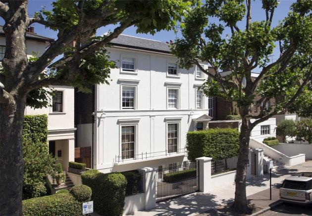 6 bedroom detached house for sale in hamilton terrace st for Mansion houses for sale in london