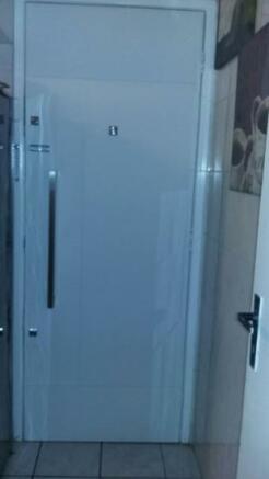 Bespoke kitchen door